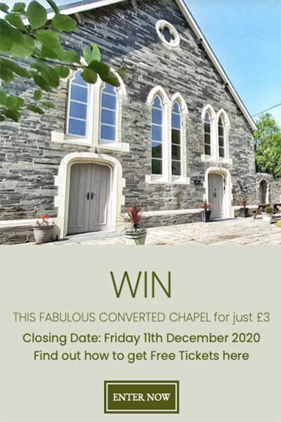 Win a Dream House in Wales